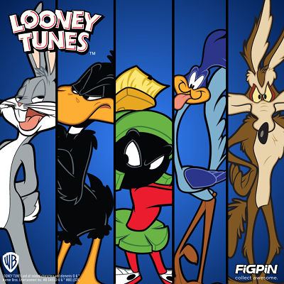 Looney Tunes are debuting on FiGPiN.com!