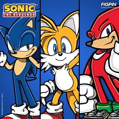 Sonic the Hedgehog and friends are racing over to FiGPiN.com!