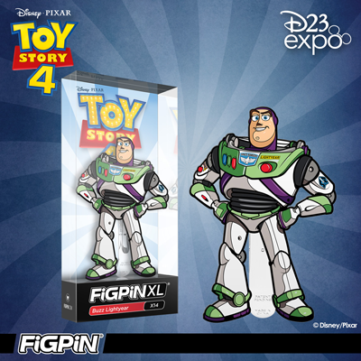 D23 Expo: Disney and Pixar's Toy Story 4 - Buzz Lightyear FiGPiN XL!