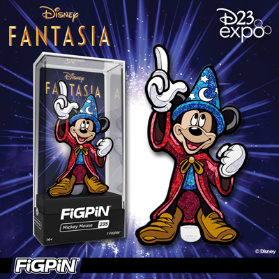D23 Expo: Disney's Fantasia Mickey Mouse FiGPiN!