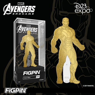 D23 Expo: Gold Iron Man FiGPiN!