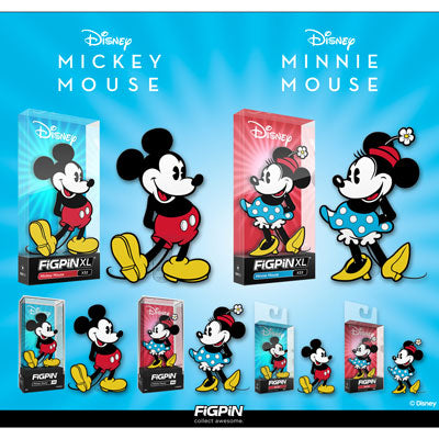 Coming soon: Classic Mickey Mouse & Minnie Mouse FiGPiNs!