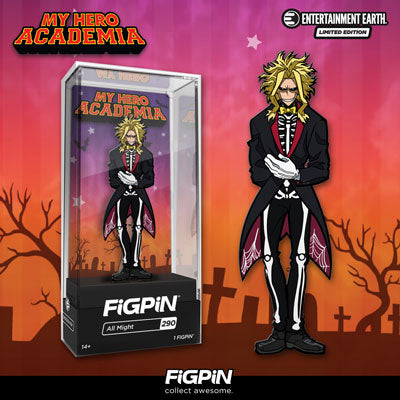 Entertainment Earth Exclusive Halloween All Might FiGPiN!