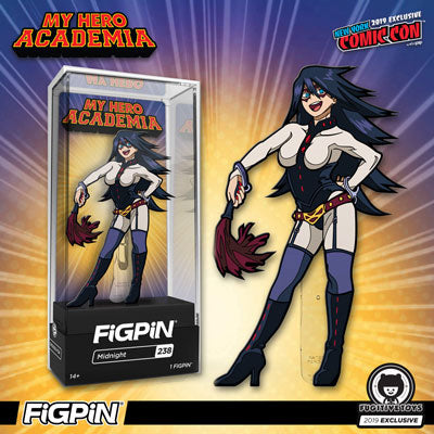NYCC 2019: Fugitive Toys Exclusive My Hero Academia Midnight FiGPiN!