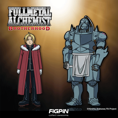 Fullmetal Alchemist: Brotherhood FiGPiNs are coming soon!