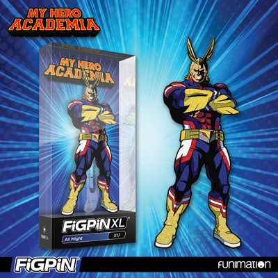 NYCC 2019: Funimation exclusive Glitter All Might FiGPiN XL!