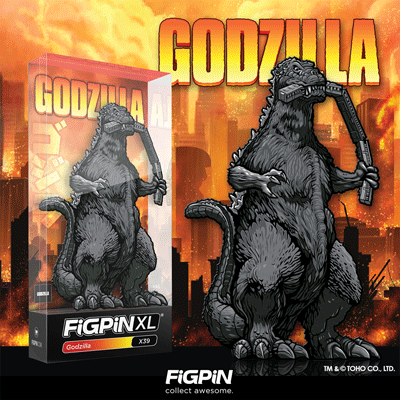 Godzilla FiGPiN XL coming in March!