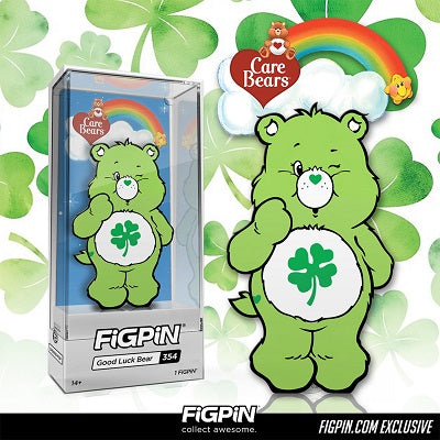 Good Luck Bear coming to FiGPiN.com on St. Patrick's Day!