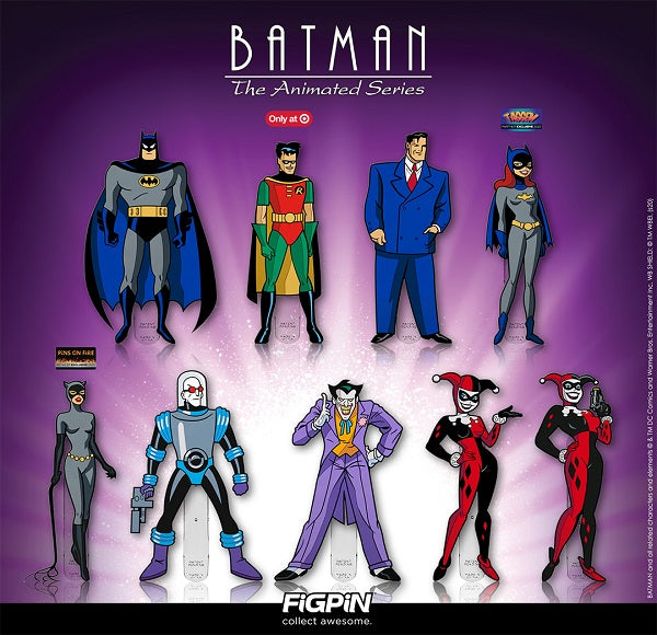 Massive Batman: The Animated Series FiGPiN lineup is coming soon!