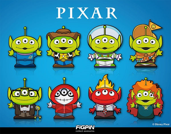Pixar's Alien Remix collection has made its way to the FiGPiN world!