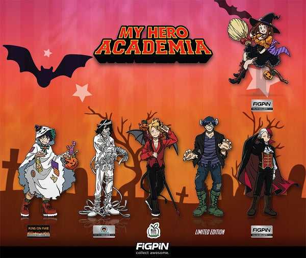 The Halloween My Hero Academia line is full of treats!
