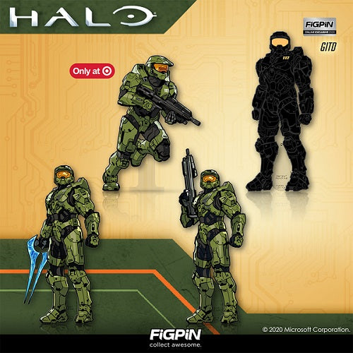 Attention Spartans: the Halo FiGPiN line featuring the Master Chief is dropping soon!