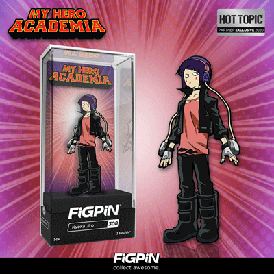 Coming soon: Hot Topic exclusive My Hero Academia Kyoka Jiro FiGPiN!