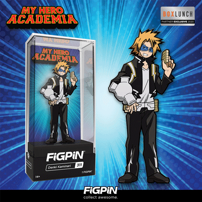 Coming soon: BoxLunch exclusive My Hero Academia Denki Kaminari FiGPiN!
