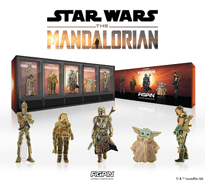 FiGPiN is Celebrating Father's Day with its STAR WARS™ The Mandalorian™ Deluxe Box Set!