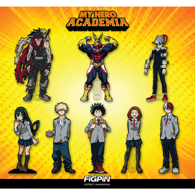 Coming soon: My Hero Academia's Stain, Shigaraki, and more!