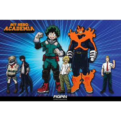 New My Hero Academia FiGPiNs coming in November!
