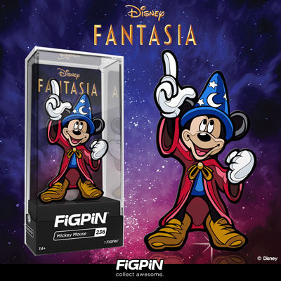 Coming soon: Disney's Fantasia Mickey Mouse FiGPiN!
