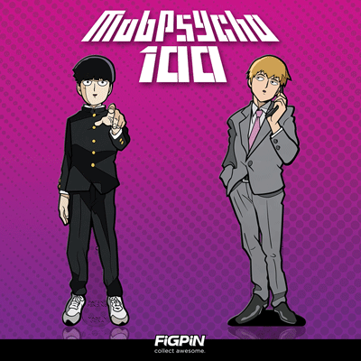 Mob Psycho 100 FiGPiNs coming soon!