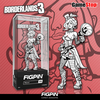 Coming soon to GameStop: Black & White Moxxi from Borderlands 3!