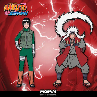 Naruto's Rock Lee & Jiraiya FiGPiNs coming in November!