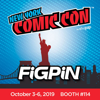 FiGPiN is headed to NYCC 2019!