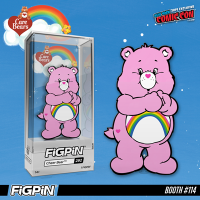NYCC 2019: Care Bears - Cheer Bear FiGPiN!