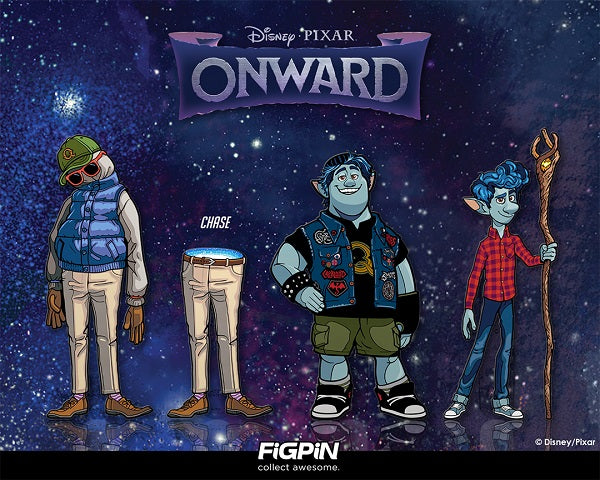 Disney and Pixar's Onward Characters are coming to FiGPiN.com!
