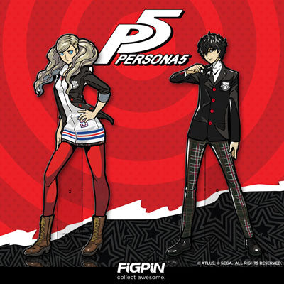 Persona 5's Ann Takamaki & Protagonist on FiGPiN.com next Tuesday!