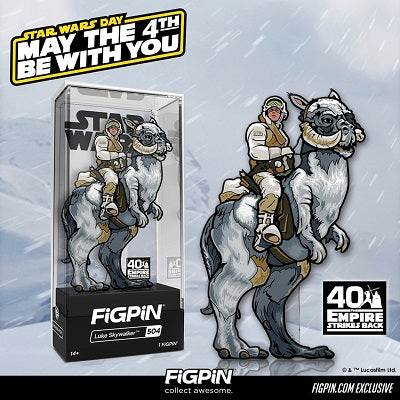 May the 4th Be With You: Pre-order the FiGPiN.com exclusive STAR WARS™ Luke Skywalker™ on Monday!