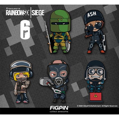 Rainbow Six Siege FiGPiN Minis at Target now!