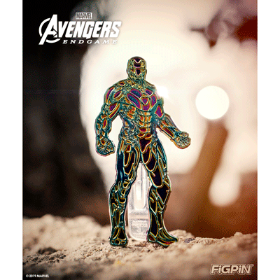 Infinity Stone Iron Man FiGPiN Coming Soon!