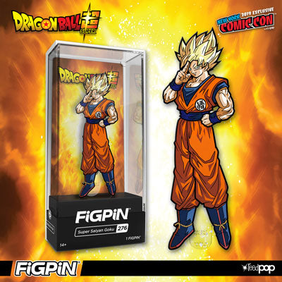 NYCC 2019: Dragon Ball Super's Super Saiyan Goku FiGPiN in the Official NYCC Store!