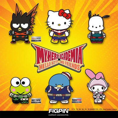 My Hero Academia x Hello Kitty® & Friends FiGPiN collection is arriving on FiGPiN.com and to exclusive retailers!