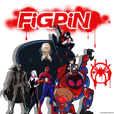 Spider-Man: Into the Spider-Verse FiGPiN Collection at NYCC & beyond!