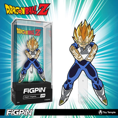 NYCC 2019: Toy Temple exclusive Dragon Ball Z Majin Vegeta FiGPiN!