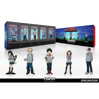 My Hero Academia School Uniform Box Set coming to FiGPiN.com!