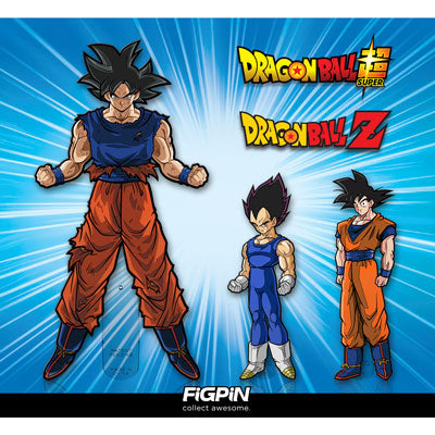 New Dragon Ball Z Goku & Vegeta coming soon!