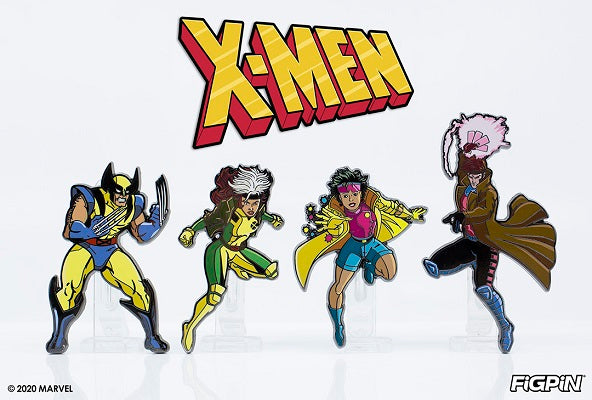 X-Men: The Animated Series FiGPiNs are arriving on FiGPiN.com!