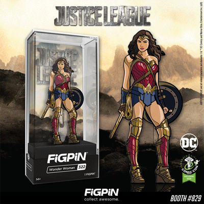 ECCC 2020: Justice League Wonder Woman FiGPiN!