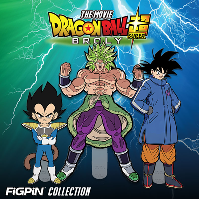 Dragon Ball Super: Broly - The Movie FiGPiN Collection Coming in June!