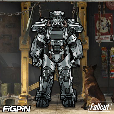 Fallout's T-60 Power Armor FiGPiN XL coming in July!