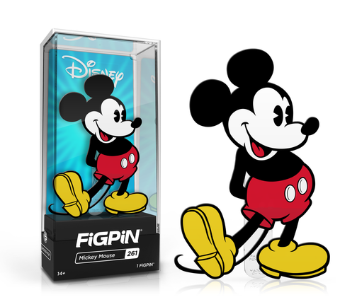 Coming Soon Classic Mickey Mouse Minnie Mouse Figpins