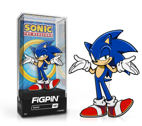 Sonic The Hedgehog - Sonic #581  FiGPiN Common