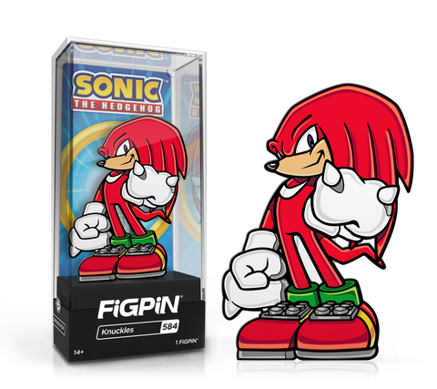 Sonic The Hedgehog - Knuckles #584  FiGPiN Exclusive / 2k LE ($20)