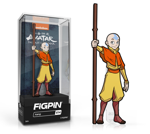 FiGPiN: Avatar: The Last Airbender - Aang #614 FiGPiN Common