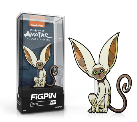 FiGPiN: Avatar: The Last Airbender - Momo #620 FiGPiN exclusive / 2k pcs ($20)