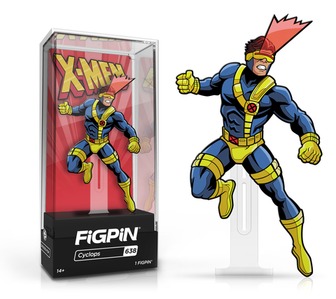 FiGPiN: X-Men: The Animated Series - Cyclops #638 FiGPiN Common