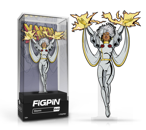 FiGPiN: X-Men: The Animated Series - Storm #642 (Glitter) FiGPiN Exclusive / 1k ($20)