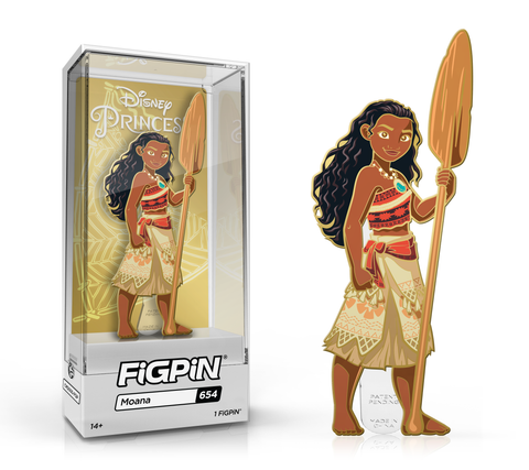 FiGPiN: Disney Princess - Moana #654 FiGPiN Exclusive / Only available in box set